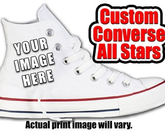 Custom Converse All Stars with your design