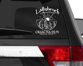 Lallybroch is calling decal