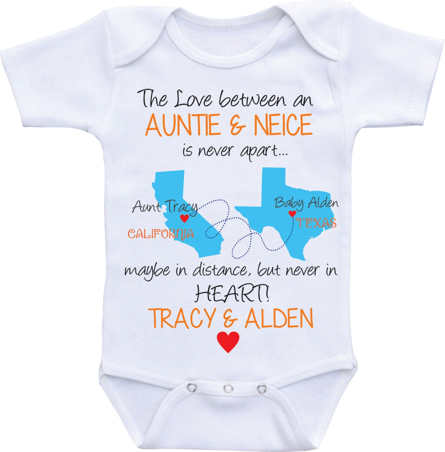 Personalized State map country Auntie esies Aunt and