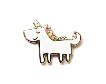 Unicorn, Enamel pin