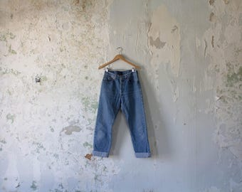 Vintage Levis 501 Jeans - Levi's 501 Jeans- faded 31 x 30 Button Fly - High Waist Jeans