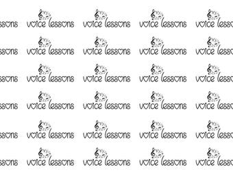 Voice Lessons Wordy Icons WI002