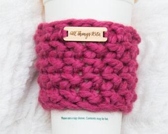Chunky Cup Cozy - Crochet Cup Sleeve