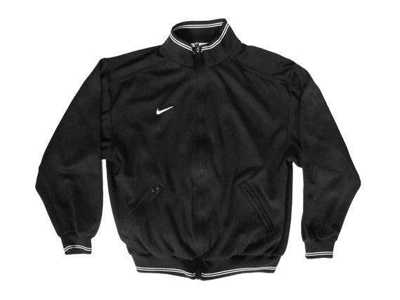 Nike Black & White Zip Up Jacket