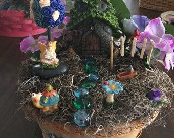 Fairy Home Basket