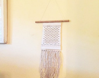 Linen and Lace: Hadwoven Tapestry