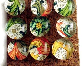 Cork Board Pins Decorative Push Pins  Thumb Tacks in  Versailles (PP22)