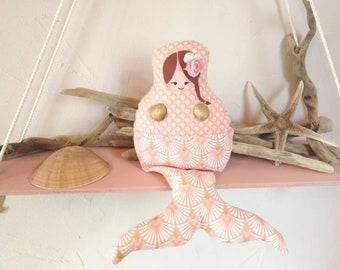 Deco' poupette coral Mermaid