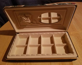 Vintage Abstract Pattern Jewelry Box