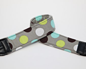 Polka Dots Camera Straps