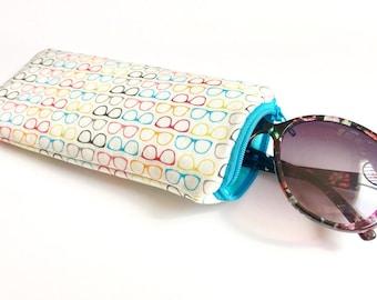 Eyeglass/Sunglass  Case Pouch - Small Shades
