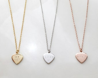Mothers Day Gift Ideas Heart Necklace Mom From Daughter Mothers Day From Daughter New Mom Gift For Wife Stepmom - DCHN