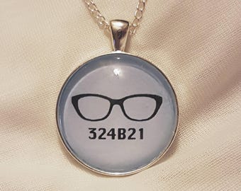 Orphan Black - inspired Necklace | 30mm 324B21 Cosima pendant | Clone Club gift