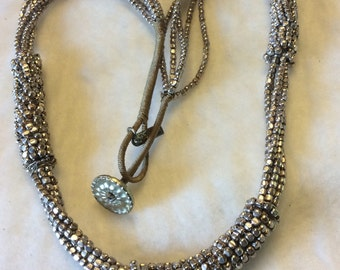 Fabienne jewelry stainless steel beads beaded necklace