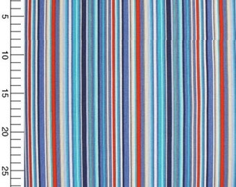 Coupon fabric stripes scrapbooking sewing customisation decoraton 45 x 55 cm