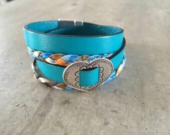 leather bracelet - new colleciton