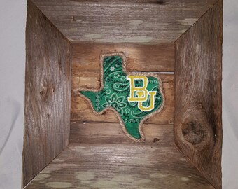 baylor bandanna sign (Mini)