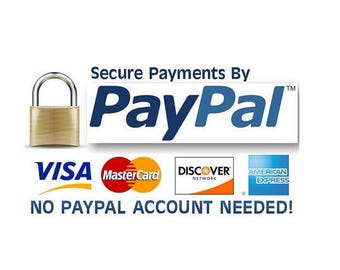 You can purchase without a Paypal account.How to complete payment with credit card through PayPal(Please DO NOT PURCHASE this is instruction