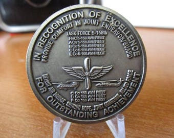 United States Army * 5th Battalion 158th Aviation Regiment * 5-158 AVN REGT * Ghostriders Challenge Coin #3618
