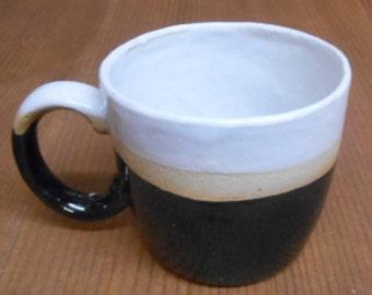 Black glazed N16 Stoneware cup