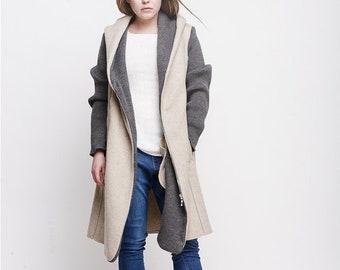Spring Hoodie Coat