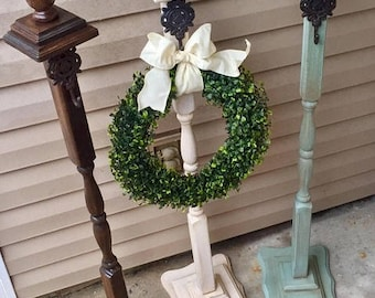Wreath Stand Sign,Stand, Welcome Post, Wreath Hanger, Wreath Stand Sign, Stand Welcome Sign, Stand Front Porch Decor, Farmhouse Porch