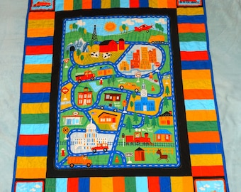 Tiny Town Quilt **ON SALE**