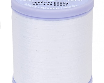 Dual Duty Paper Piecing Thread 225yd White  # S942-0100