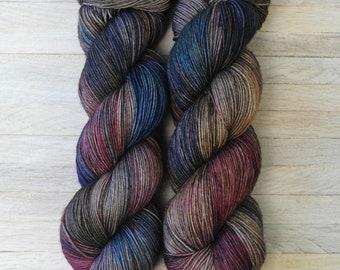 Hand Dyed Sock Yarn Superwash Merino - Yarntoyou  - PURE MERINO - Navajo