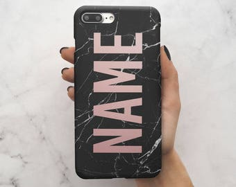marble personalised iphone 8 case