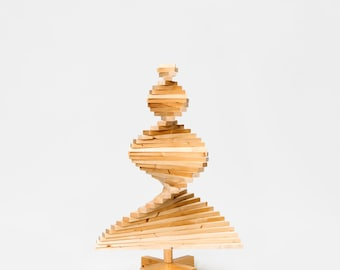 Small reclaimed wooden Christmas tree