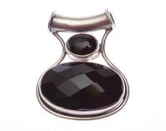 Onyx Pendant in 925 silver