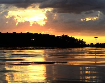 Sunset on the Great Wicomico River