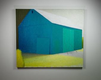 A Barn For Robins Egg Blue