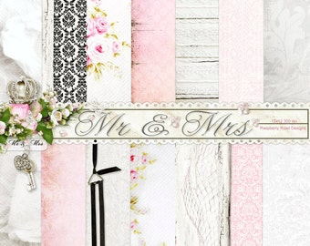 Mr. and Mrs. Paper Set