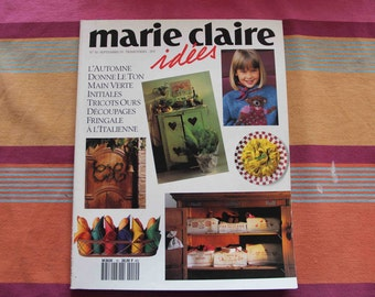 Marie Claire 1993 number 10 ideas, September 1993 issue COLLECTOR!