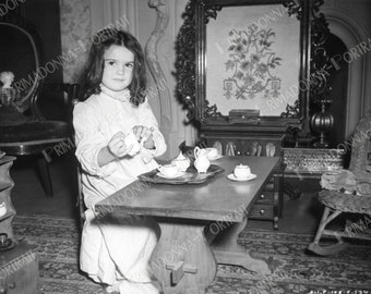 """CAMMIE KING 5X7 or 8X10 GWTW """"Gone with the Wind"""" Tea Set, Tea Cups, Dolls Dolly's Movie Still"""