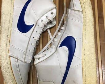 SALE 15% Vintage 80s Nike Blazer Hi Top Basketball shoes Size 8