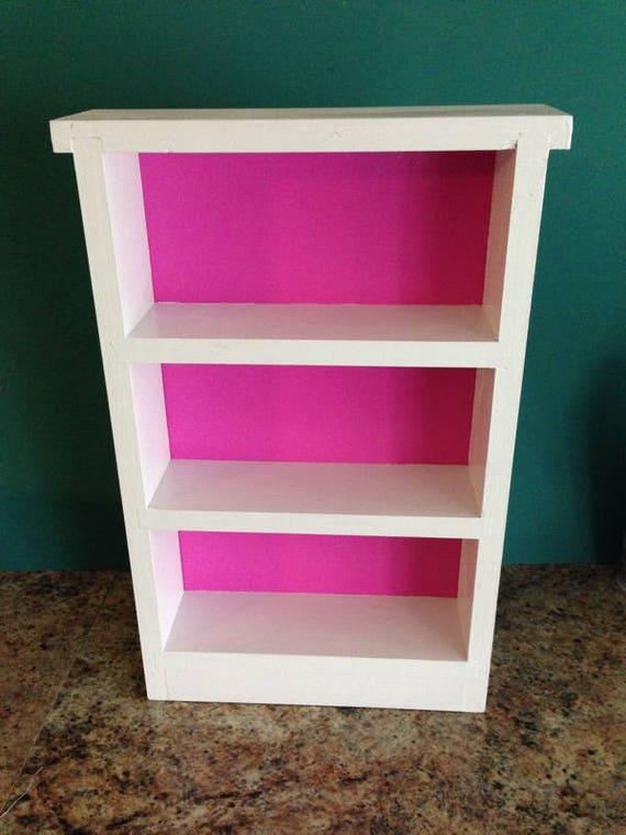 doll bookcase shelf for 18 inch american girl dolls. Black Bedroom Furniture Sets. Home Design Ideas