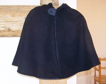 Cape with hood