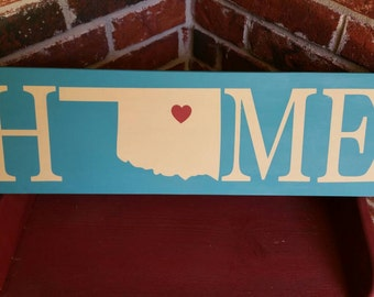 Oklahoma Home Sign