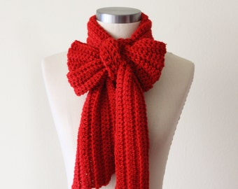 Casual Scarf in Cardinal - SALE