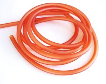 80cm of PVC color orange 5mm round