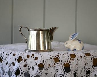 Sterling Silver Jones & Cromtpon Milk Jug Tea Set Pitcher or Creamer Hallmarked Birmingham 1910