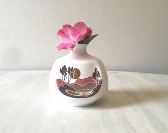 Vintage vase, vintage bone china, bone china vase, vintage miniature vase, porcelain vase, small vase, tiny ceramic vase, collectible vase