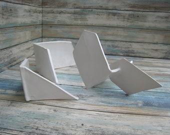 White Ceramic Sculptures   Minimalist Ceramics   White Aquarium Decorations    Garden Sculptures   Reptile Habitat