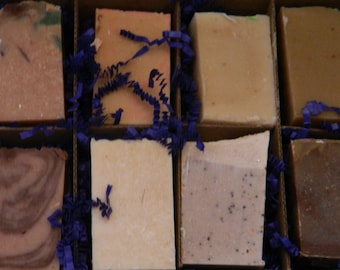 Goats Milk Soaps Sampler Family or Couples Gift Box 1
