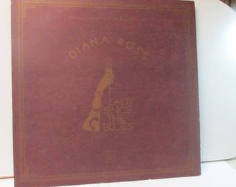 Diana ross Lady sings the blues record album excellent condition