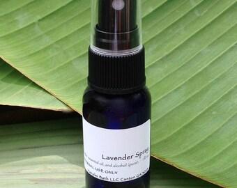 Lavender Essential Oil Spray