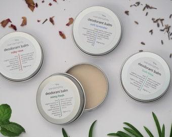 VALUE PACK - Natural Deodorant Balm - x 4 30gms - Aluminium free